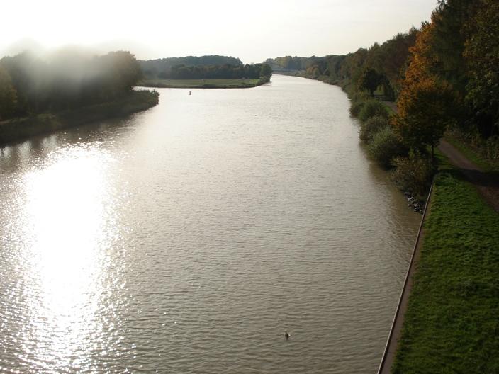 Ausbildung auf dem Dortmund-Ems-Kanal