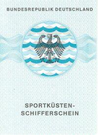 amtliches Bootsfuehrerschein Dokument SKS